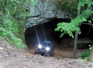 2017.location.spearhead-trail-stone-mountain-trail-system.side-x-side.riding.in-cave.jpg